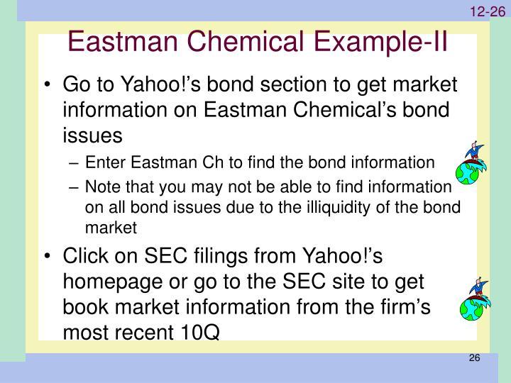 Eastman Chemical Example-II