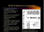 r788 w mutation caucasian