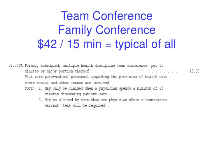 Team Conference