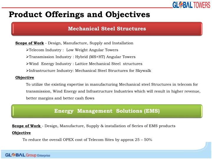 Mechanical Steel Structures