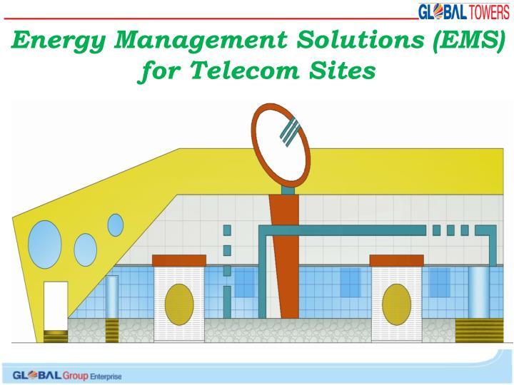 Energy Management Solutions (EMS)