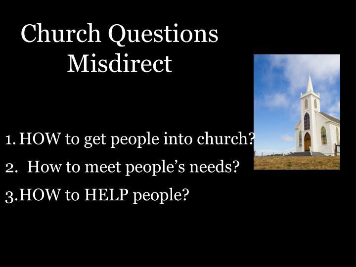 Church Questions