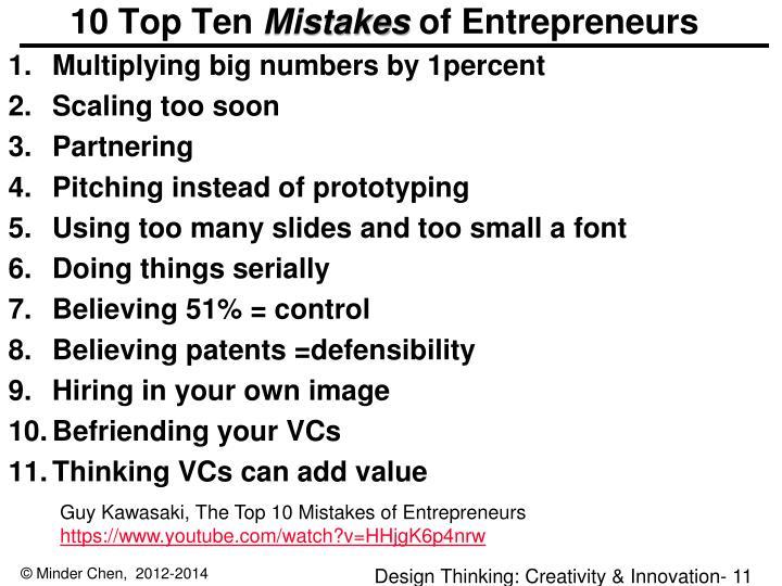 10 Top Ten