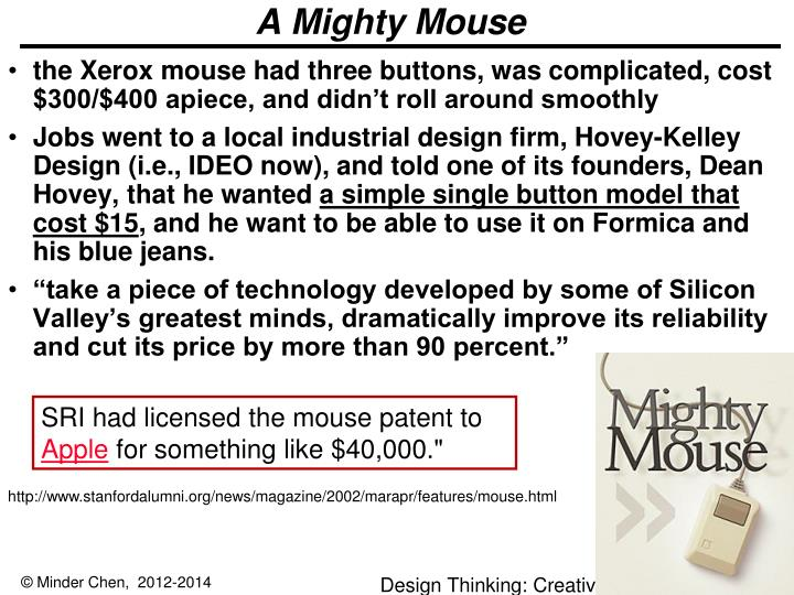 A Mighty Mouse