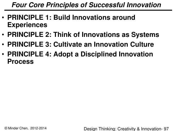 Four Core Principles of