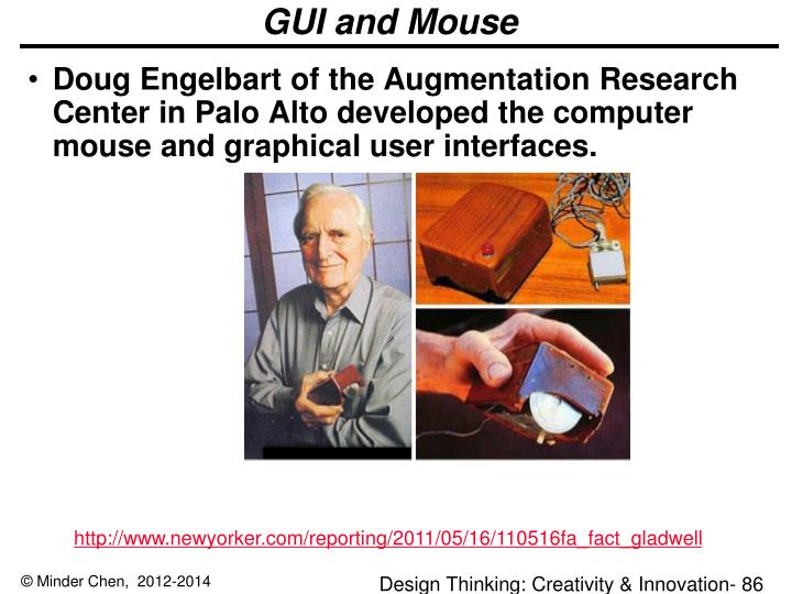 GUI and Mouse