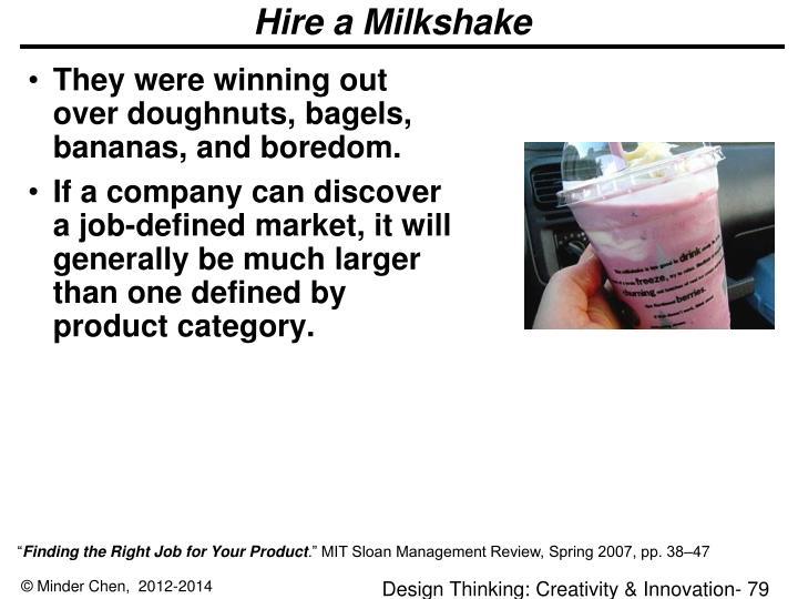 Hire a Milkshake