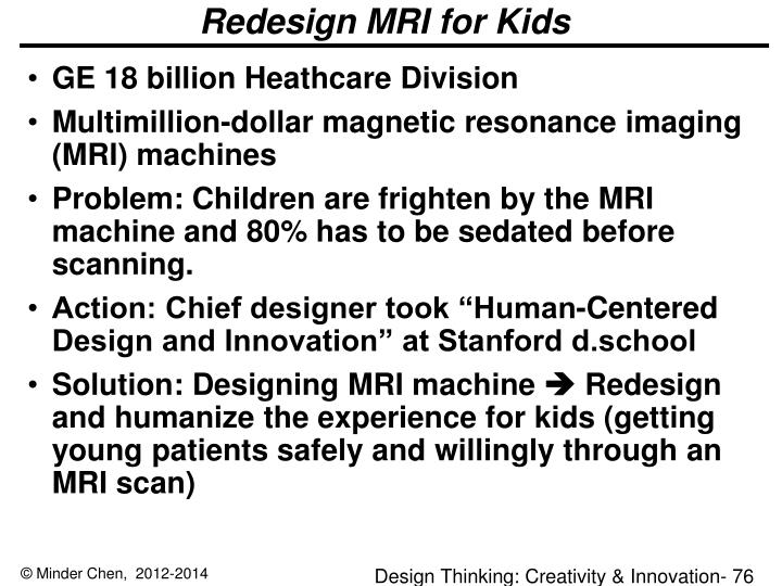 Redesign MRI for Kids