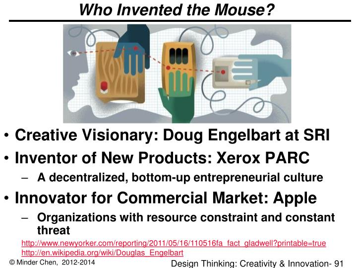 Who Invented the Mouse?