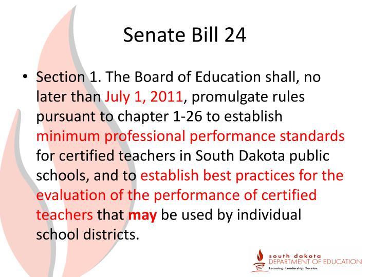 Senate Bill 24
