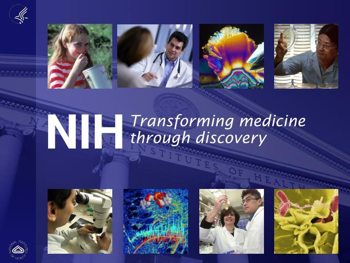 Transforming medicine through discovery