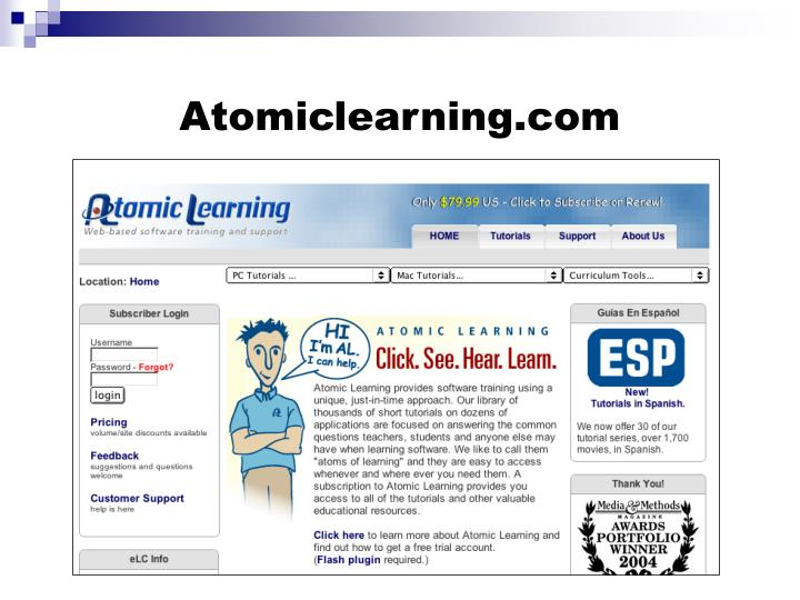 Atomiclearning.com
