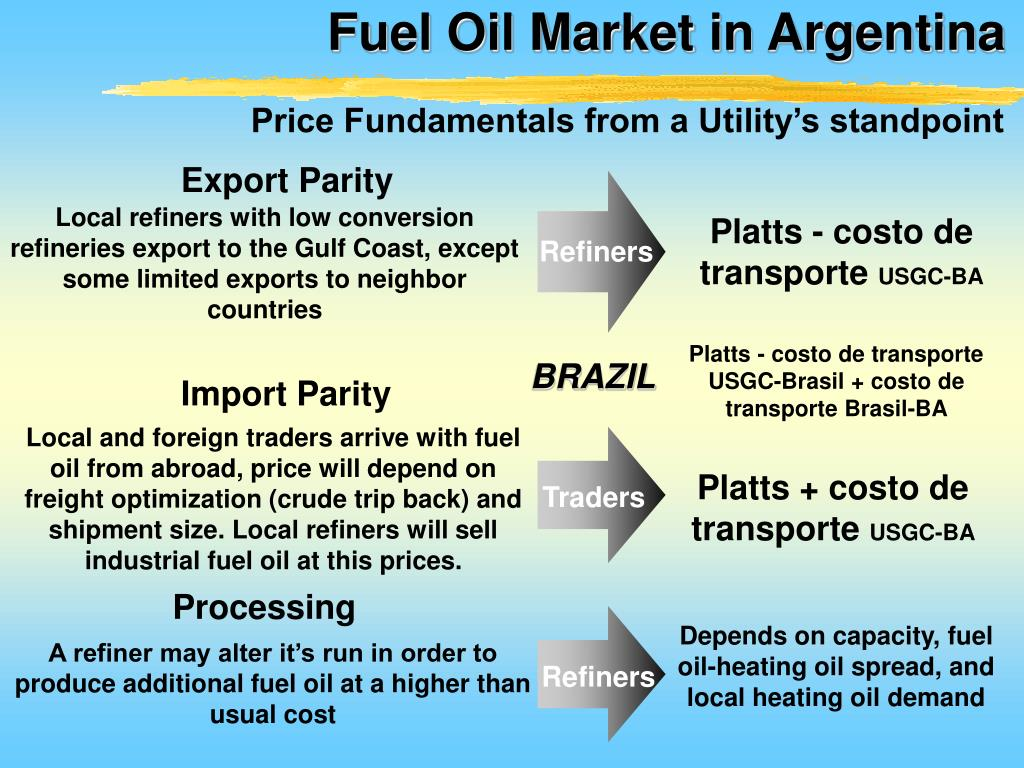 PPT - Argentine Power Market Fuel Oil Use & Opportunities for the