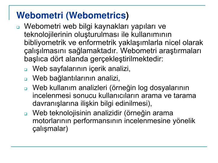 Webometri (Webometrics