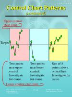 control chart patterns continued