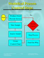 statistical process control steps