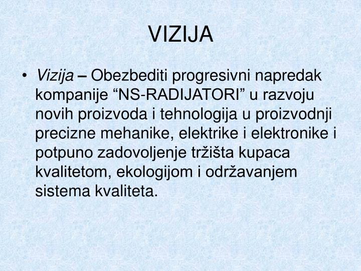 VIZIJA