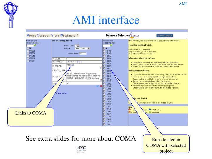 AMI interface