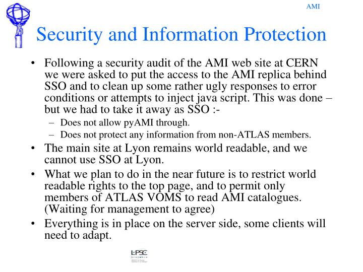Security and Information Protection