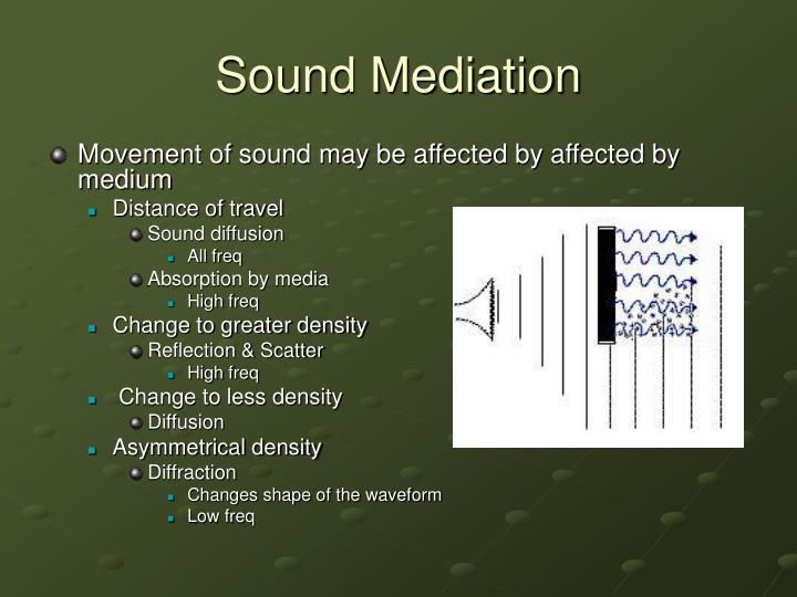 Sound Mediation