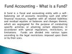 fund accounting what is a fund