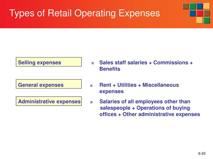 Selling expenses
