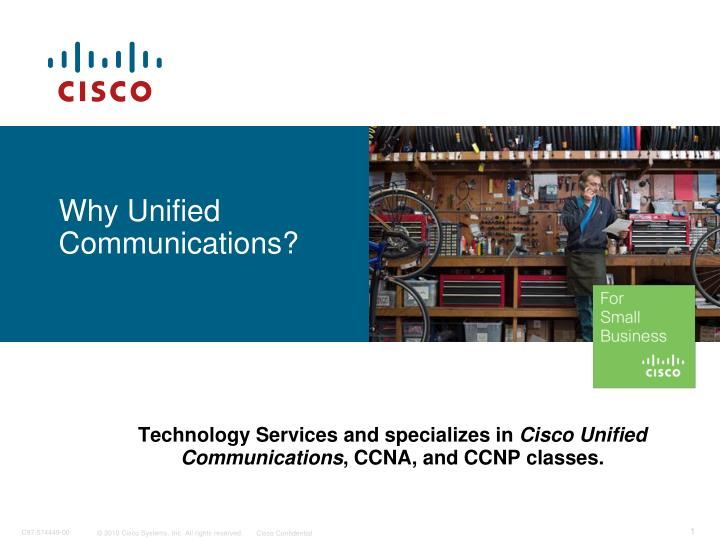 why unified communications n.