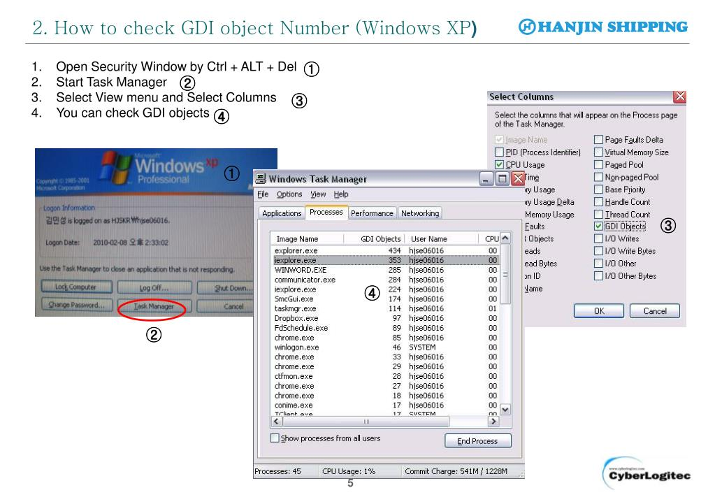 PPT - Windows GDI Object - Capacity Increase Guide