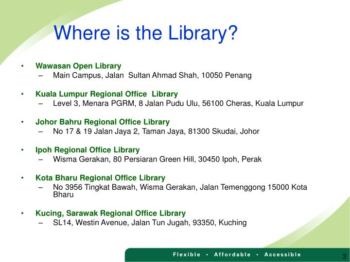 Where is the library