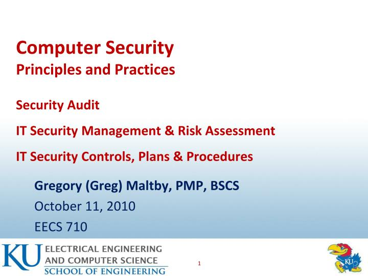 gregory greg maltby pmp bscs october 11 2010 eecs 710 n.
