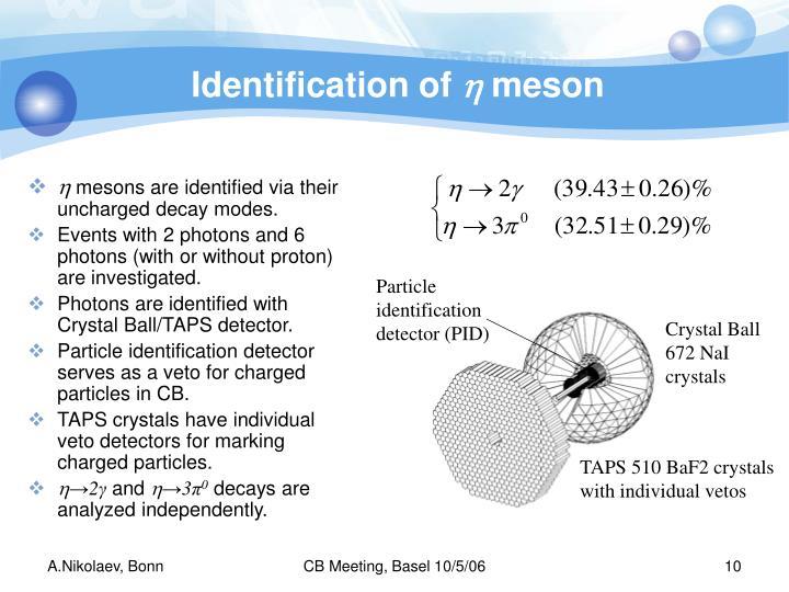 Identification of
