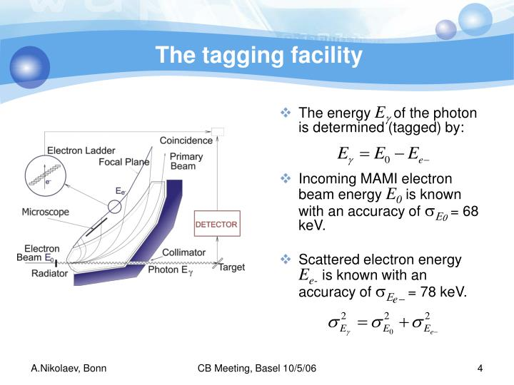 The tagging facility