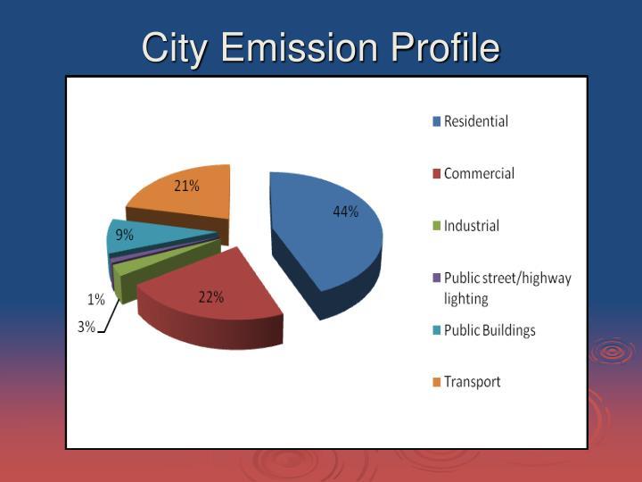 City Emission Profile