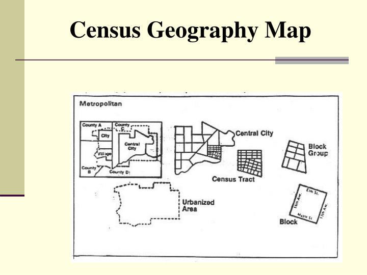 Census Geography Map