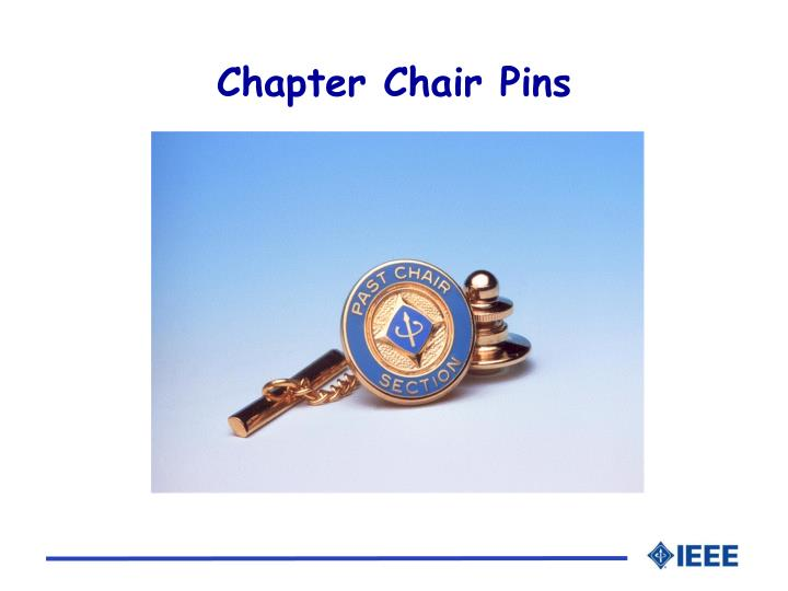 Chapter Chair Pins