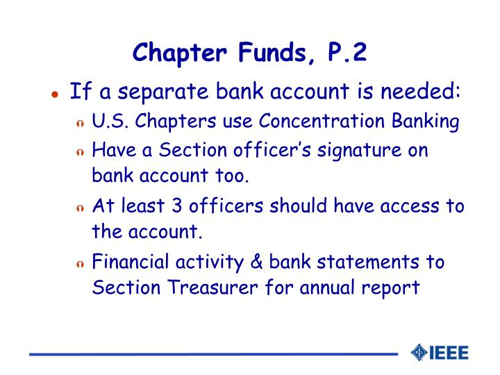 Chapter Funds, P.2