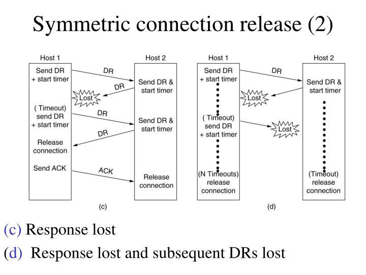 Symmetric connection release (2)