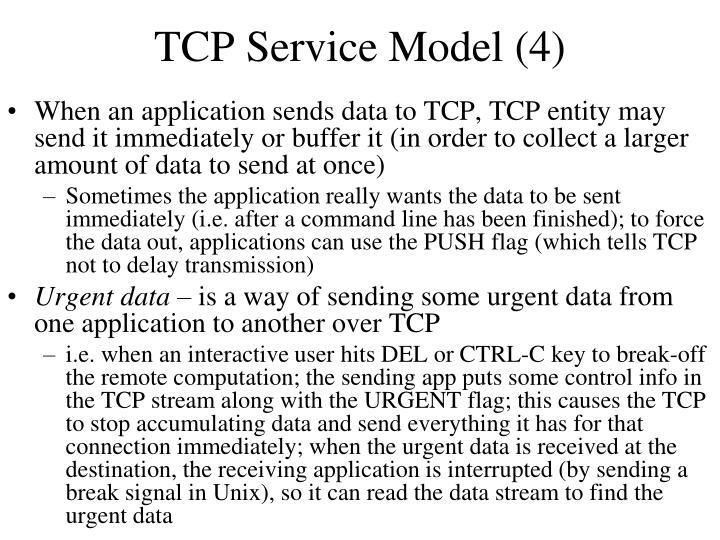 TCP Service Model (4)