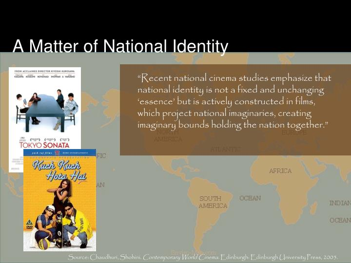 A Matter of National Identity