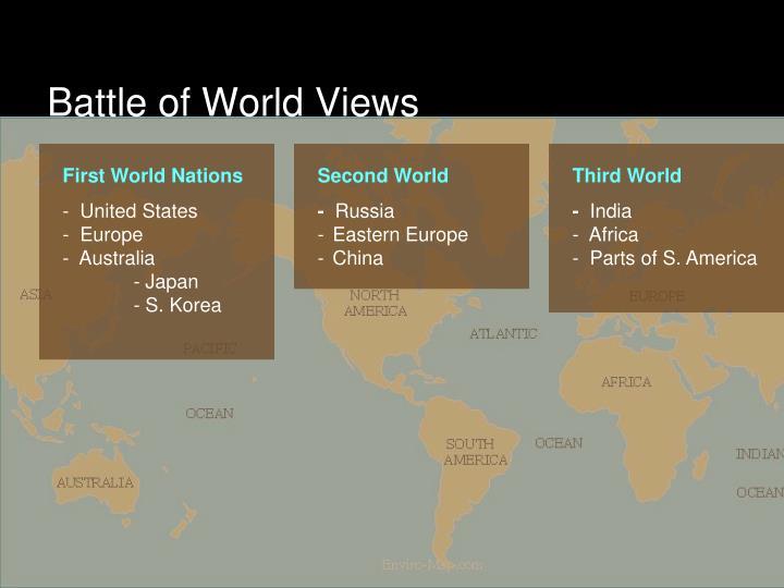 Battle of World Views