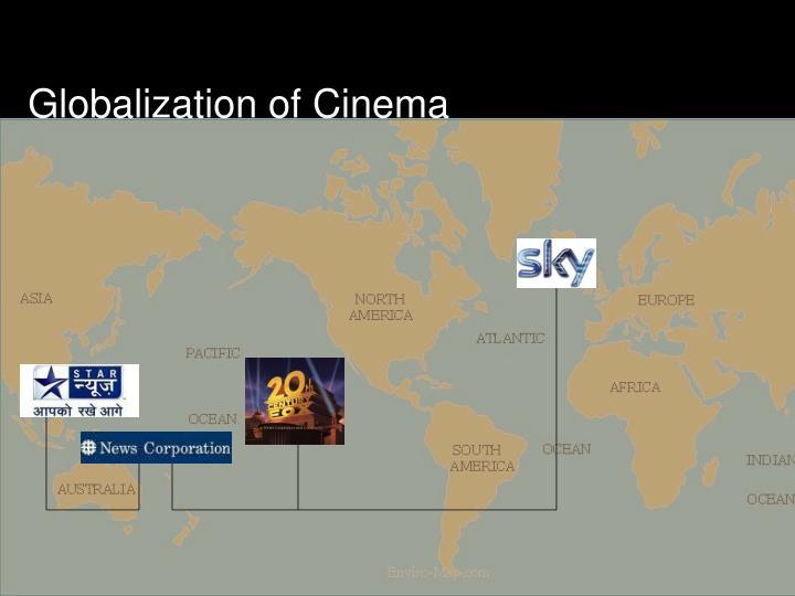 Globalization of Cinema