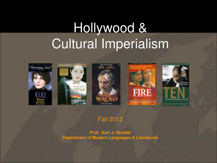 Hollywood cultural imperialism