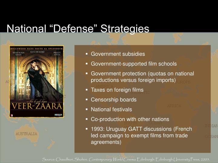 "National ""Defense"" Strategies"