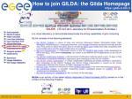 how to join gilda the gilda homepage https gilda ct infn it