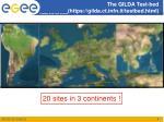 the gilda test bed https gilda ct infn it testbed html