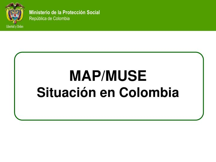 MAP/MUSE