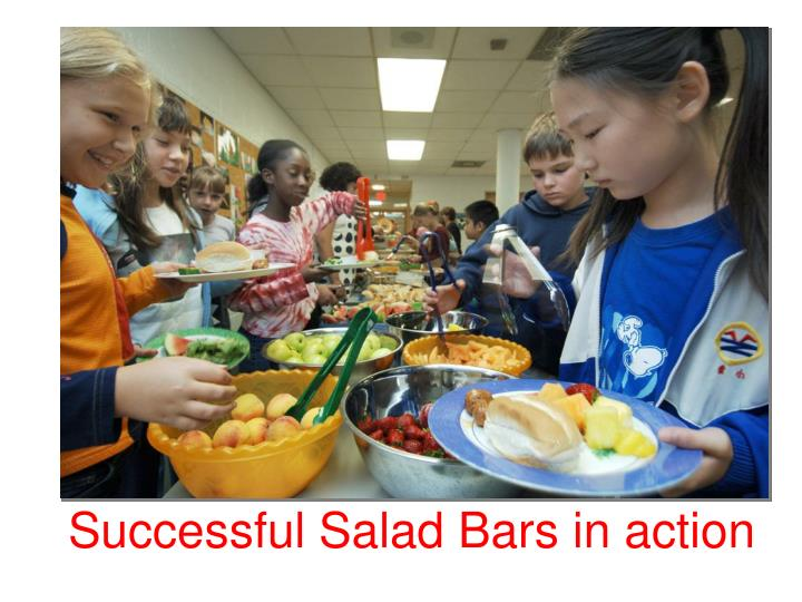 Successful Salad Bars in action