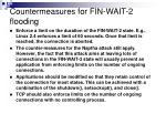 countermeasures for fin wait 2 flooding