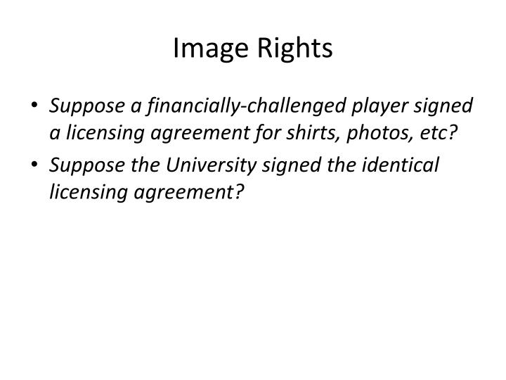 Image Rights