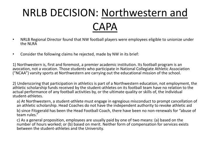 NRLB DECISION: